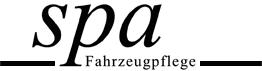 Spa Fahrzeugpflege - Logo