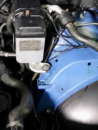 Motorreinigung - nachher