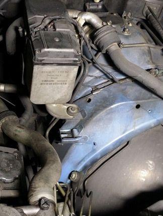 Motorreinigung - vorher